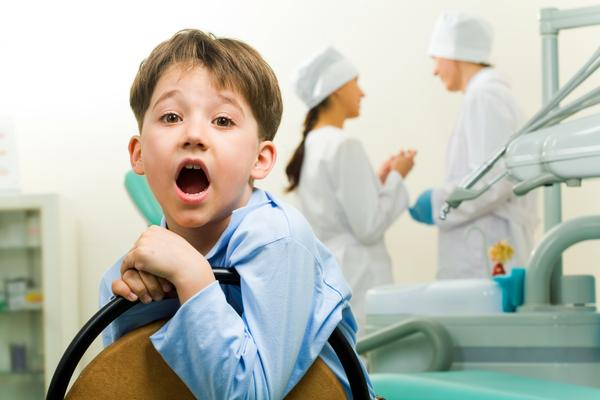 ребенка к стоматологу